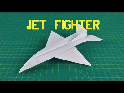 Origami Paper Plane | How to make a Jet Fighter #2