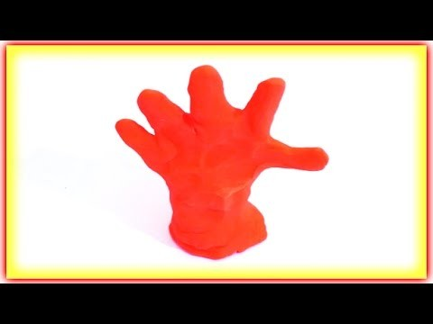 Play Doh Stopmotion - How To Hand - How to Finger - Play Doh Stopmotion