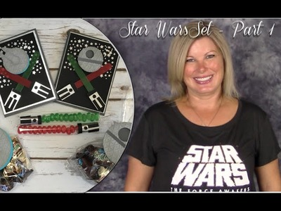 Star Wars Set Part 1 How to make Jelly Belly Light Sabers with Stampin Up