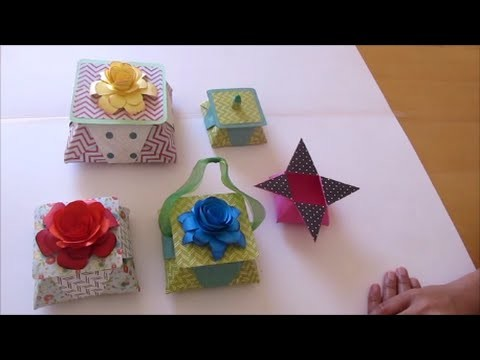 Art and Craft: How to make Origami star box with a lid