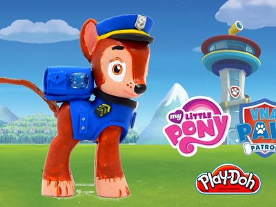 Chase Paw Patrol Customized My Little Pony figure Custom How To HD