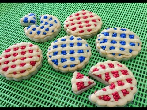 Cherry & Blueberry Pie Cookies(How To)