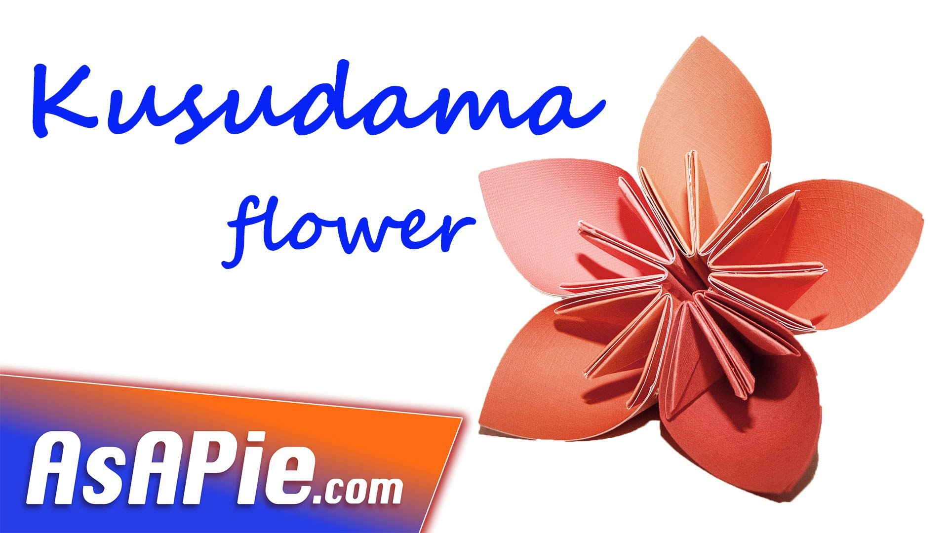 Easy origami flower instruction ✿ How to make origami kusudama flower