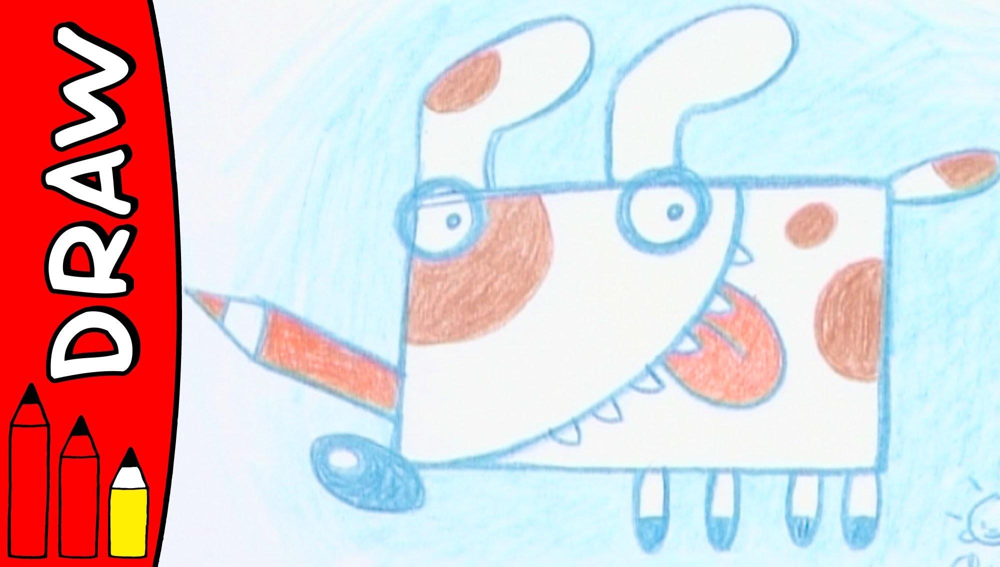 How To Draw A Dog | Art Ideas For Kids | Øistein Kristiansen