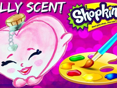 HOW TO: Draw and Color Shopkins SALLY SCENT Easy! PLUS Fashion Spree Basket Opening