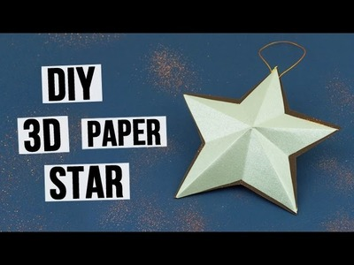How to Make 3D Paper Star