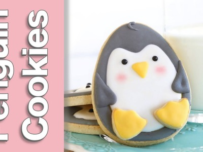 How to make a cute penguin cookies - Easy penguin cookie