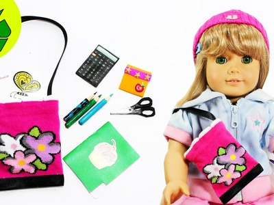 How to Make a Doll Bag. purse - Easy Doll Crafts