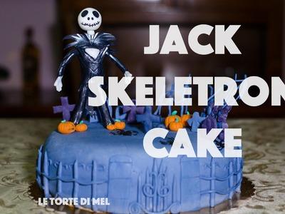 HOW TO MAKE A JACK SKELLINGTON CAKE