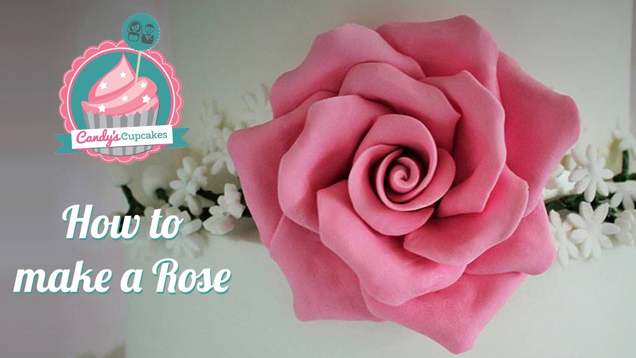 How to make a Rose using Modelling Paste