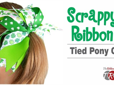 How to Make a Scrappy Ribbon Tied Pony O - TheRibbonRetreat.com