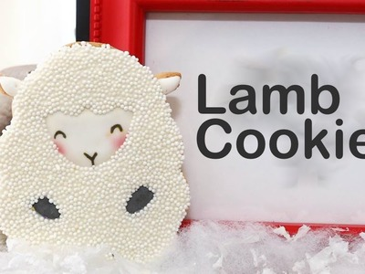 How to make cute lamb cookies - A cookie exchange party