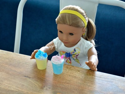 How To Make Drinks For Your American Girl Doll ~ NON EDIBLE ~ HD!