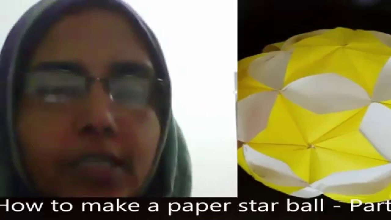 How to make paper ball react of latifa