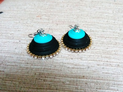 HOW TO MAKE QUILLING JHUMKAS