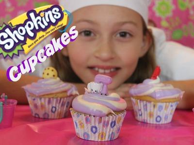 How To Make Shopkins Cupcakes   Chef Bella