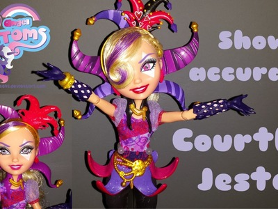 How to make show accurate Courtly Jester Ever After High doll
