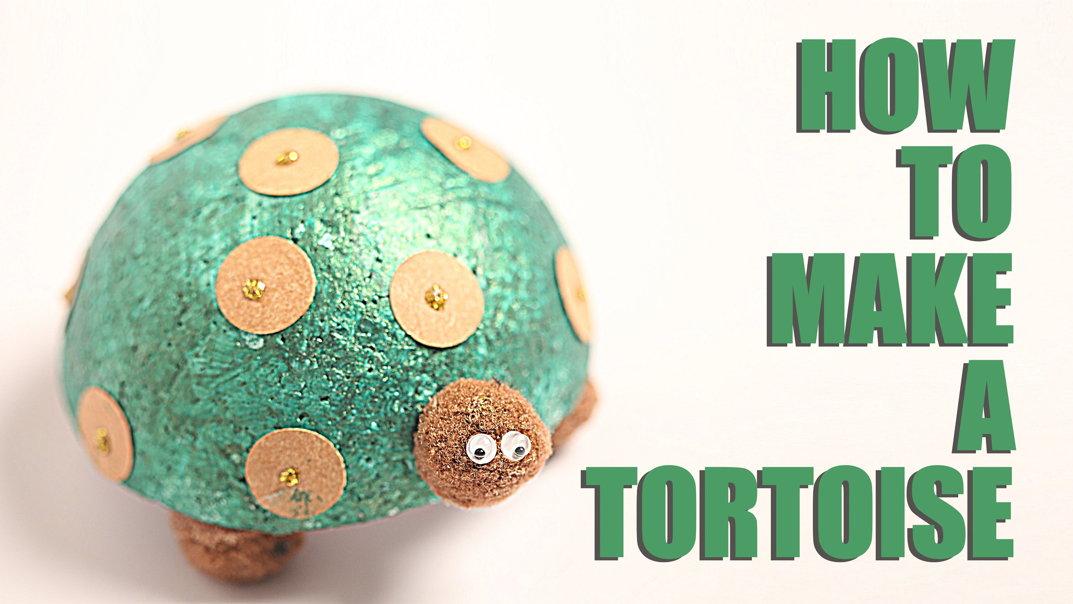 How To Make Tortoise | DIY Tortoise | Kids Art and Craft | Learn Art and Craft
