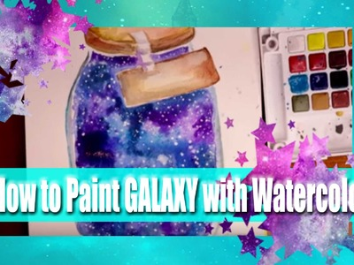 How to PAINT a GALAXY with Watercolor (RECAP) - @dramaticparrot