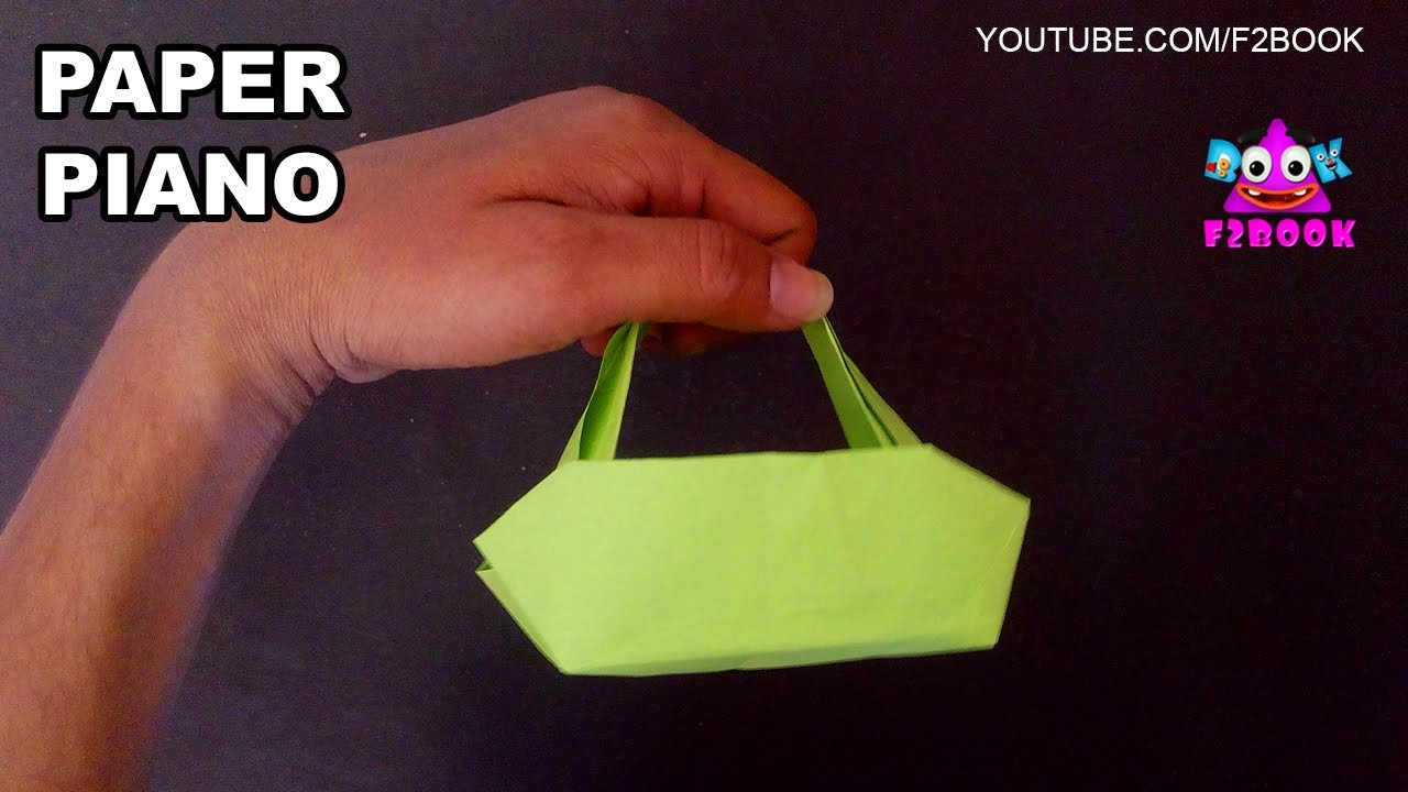 Ladies hand bag: How To Make Paper folding | origami  Easy Learn Video