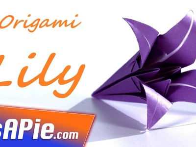TOP 3 easy origami flower tutorials - How to make origami flowers