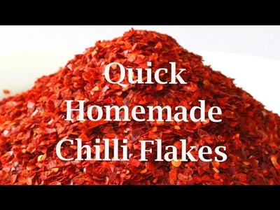 Allotment Diary : How to make quick homemade oven dried Chilli Flakes