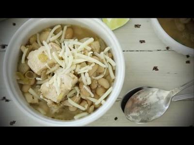 Chicken Recipes - How to Make White Chicken Chili