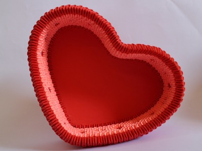 How To: 3D Origami Heart Box