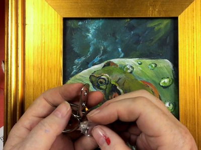 How to Frame your own  painting Do's and Don'ts