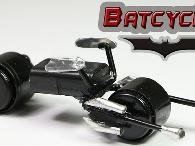 "How To Make A Batman Motorcycle - ""Batcycle Toy"""