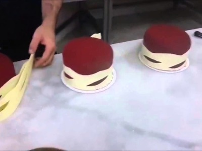 How To Make Chocolate Garnishes Decorations CAKE beautiful 2015