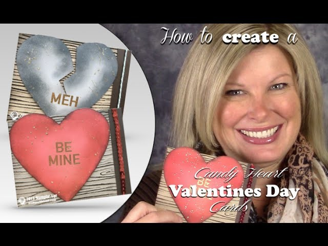 How to make Conversation Heart Cards & Giveaway featuring Stampin Up Paper Pumpkin