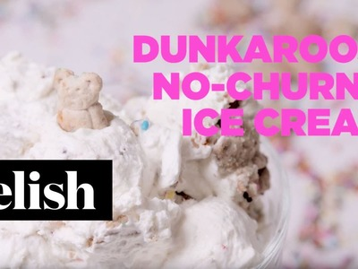 How To Make DunkAroos No-Churn Ice Cream | Delish