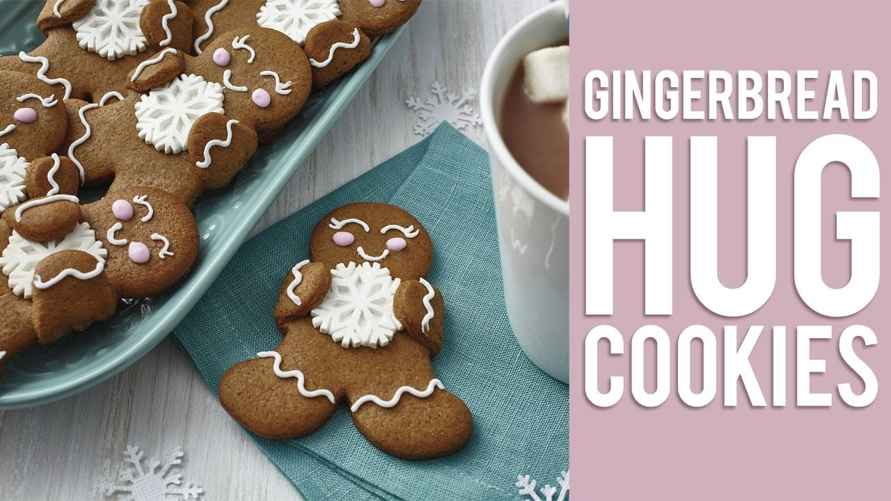 How to Make Gingerbread Hug Cookies