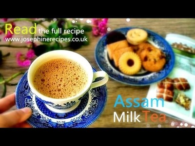 How To Make Indian Milk Tea | Royal Milk Tea Recipe | Indian Tea with Milk