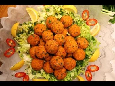 How to make Lentil Kofte - Vegetarian Kofta Recipe - Armenian Cuisine - Heghineh Cooking Show
