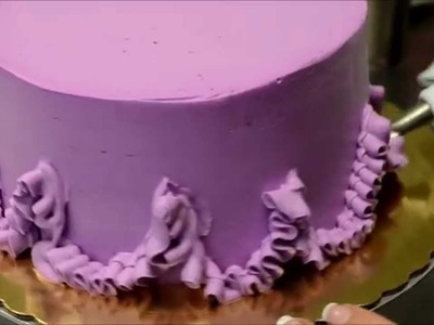 How to make Purple Icing birthday cake