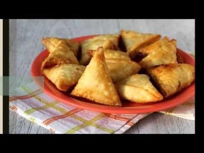 How to make sweet corn samosa recipe