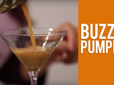 How to Make Tito's Handmade Vodka Buzzed Pumpkin Halloween Cocktail