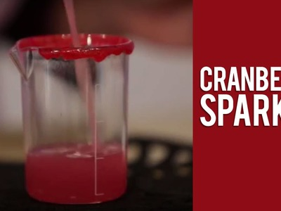 How to Make Tito's Handmade Vodka Cranberry Sparkle Halloween Cocktail