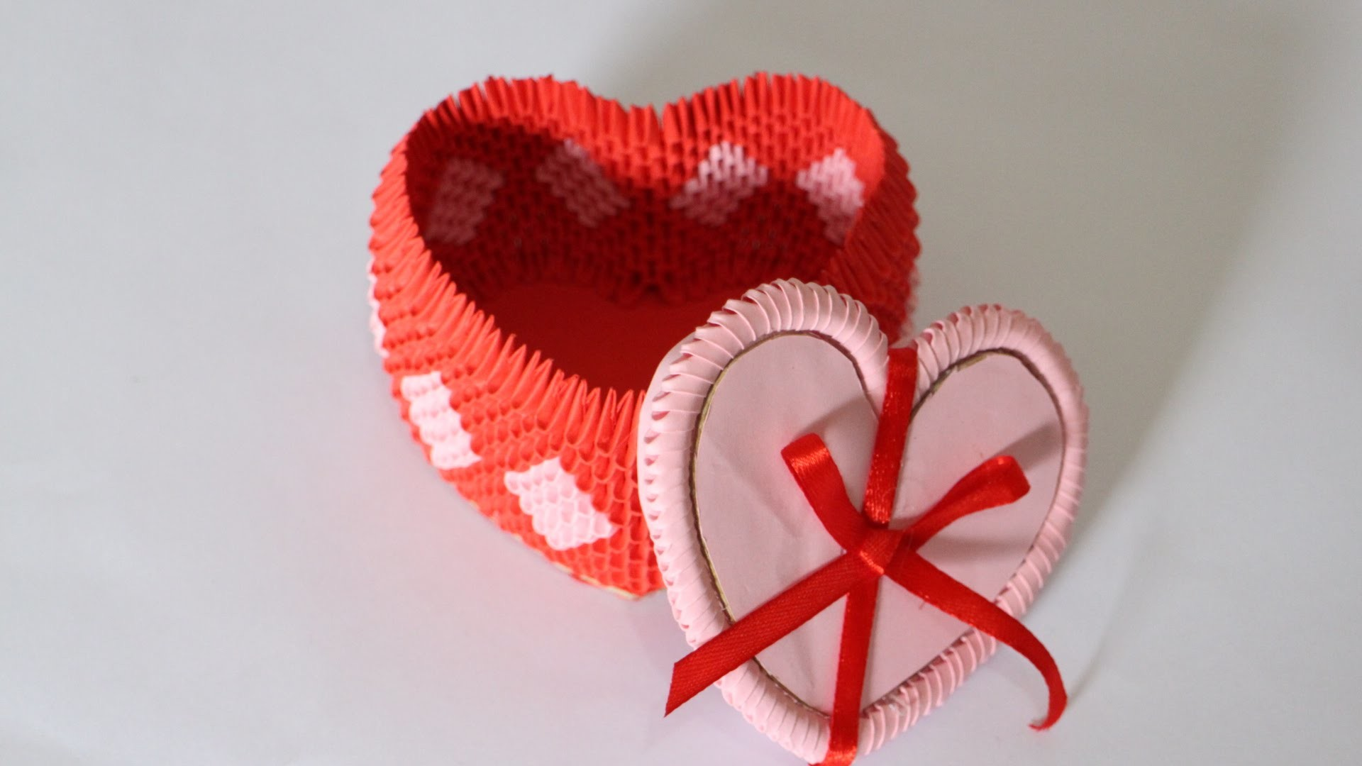 How To: Origami Heart Box For Jewelry - Part 2