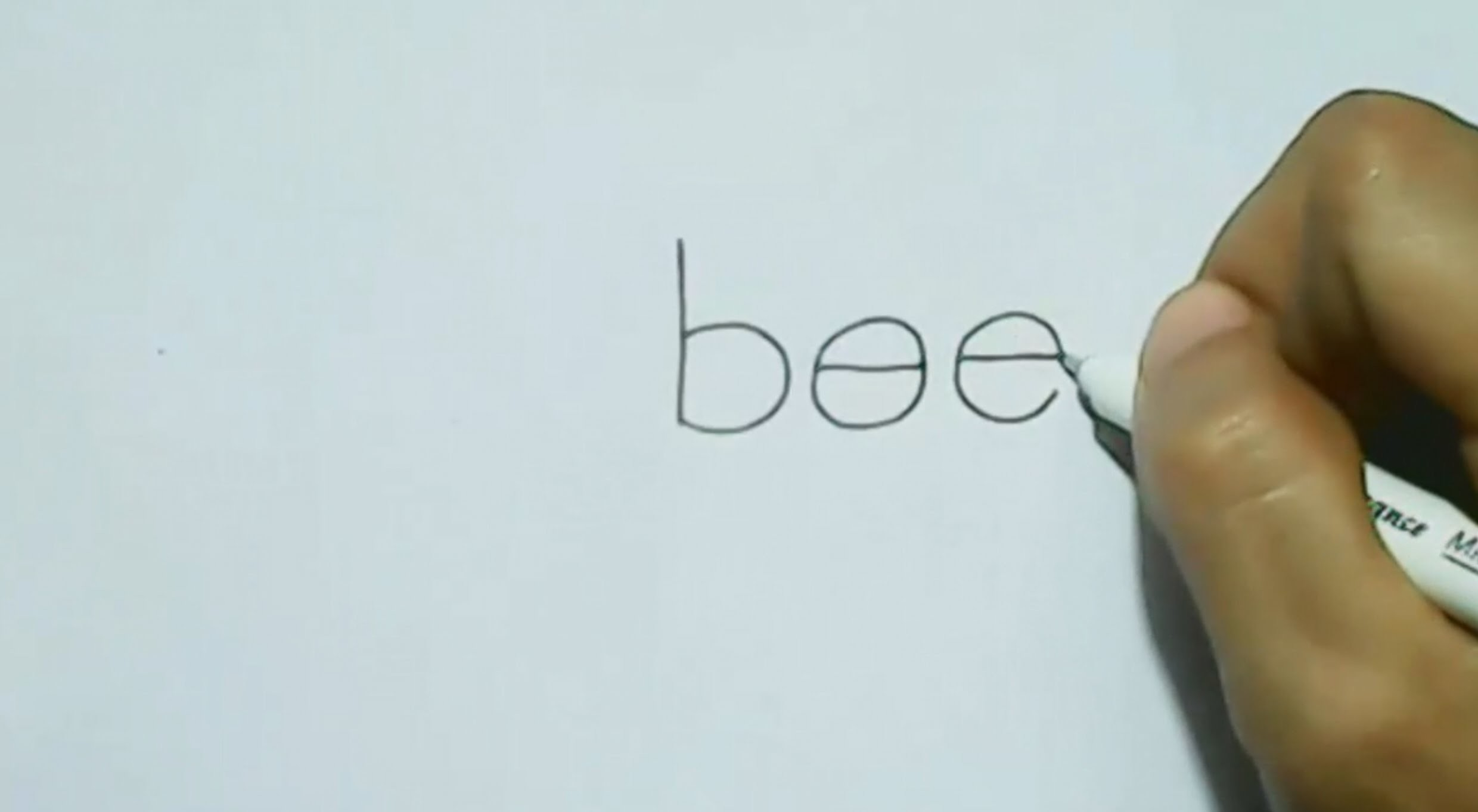 How to turn Word bee into a Cartoon Bee. | Wordtoon