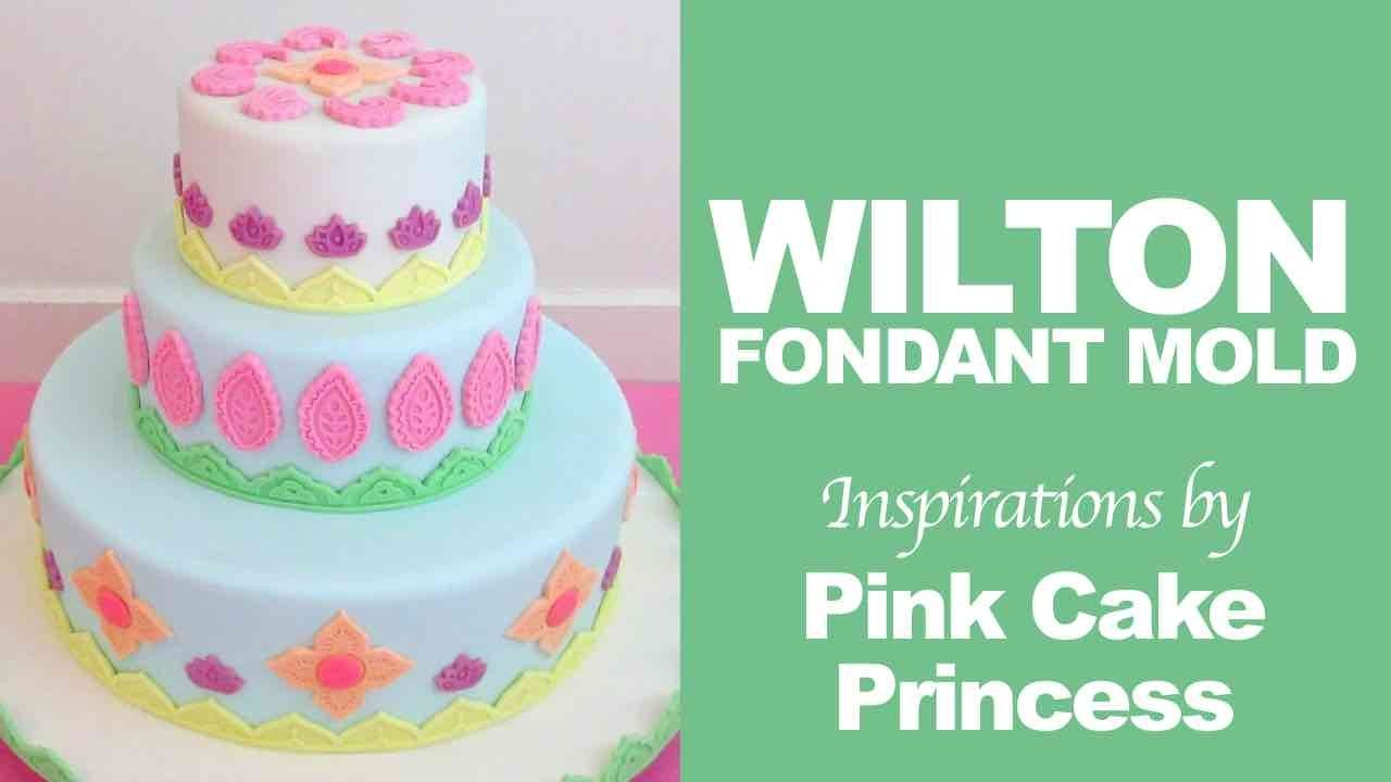 How to Use Wilton Silicone Mold Global to Decorate Cakes by Pink Cake Princess