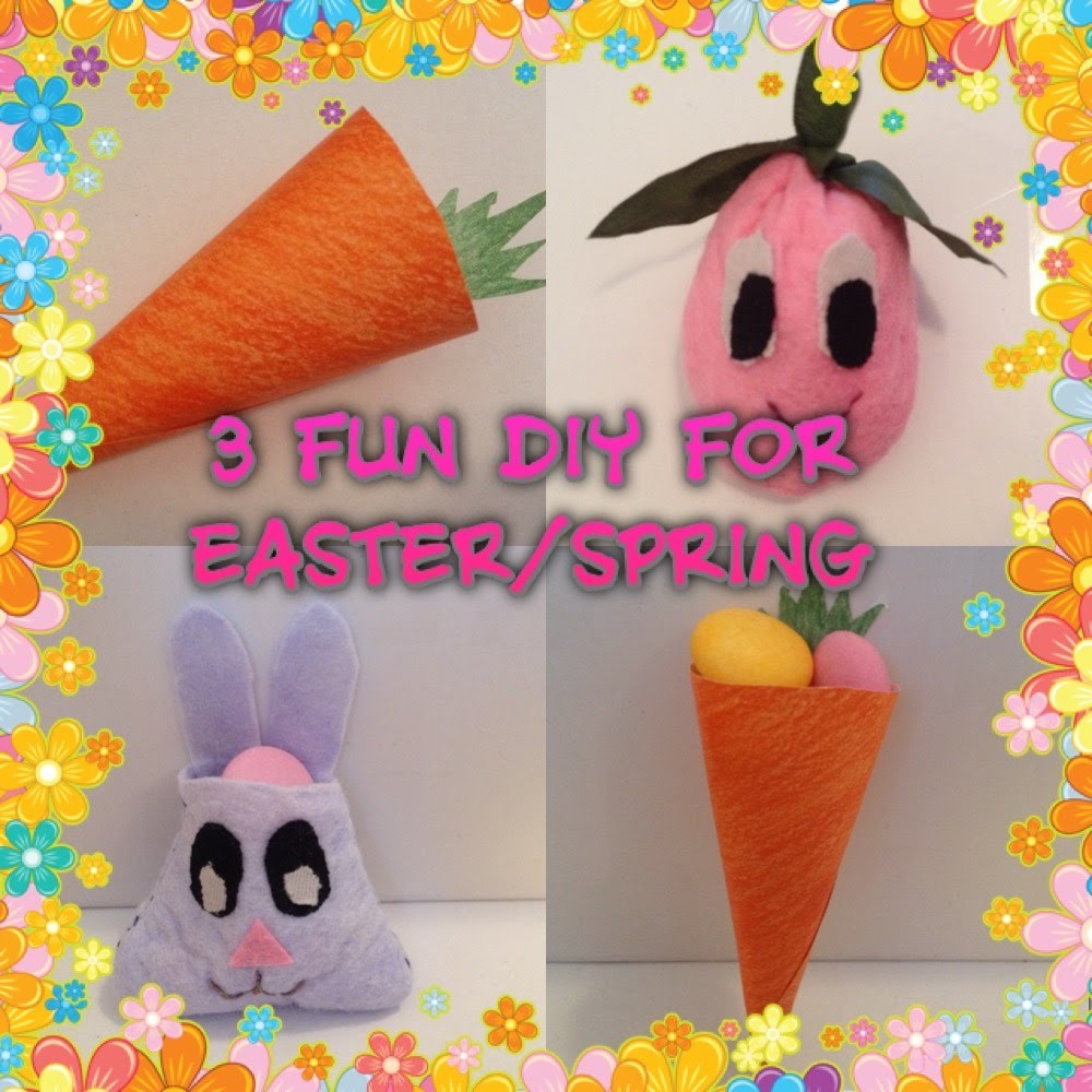 3 Fun & Easy DIY's For Easter