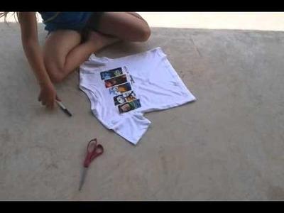 AlexaJade Diy crop top kids tutorials 9yrs old