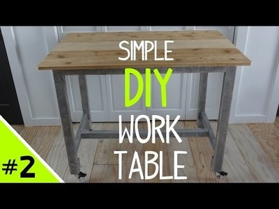 Build a Simple DIY Work Table (Top) - 2 of 2