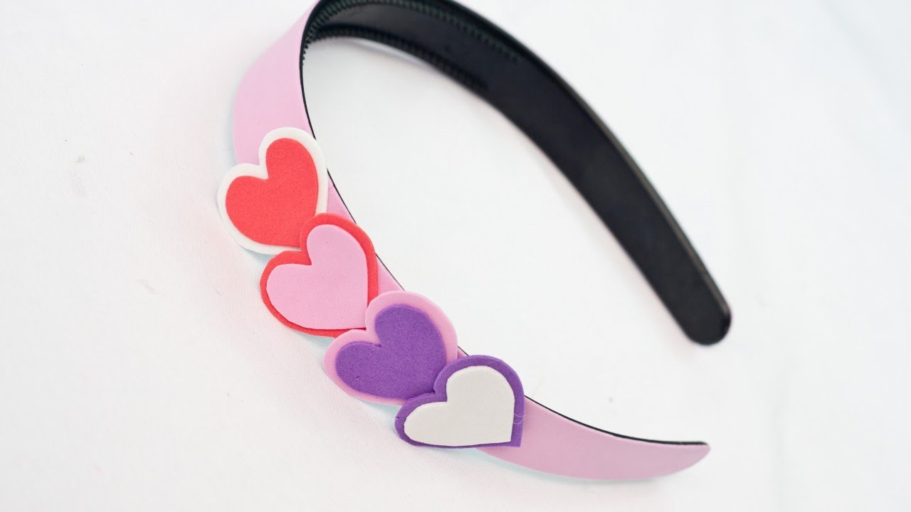 Create a Fashionable Valentine Headband - DIY Style - Guidecentral
