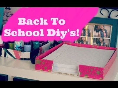 DIY Binder Decoration & Organization Ideas! Back To School 2015!