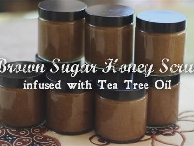 DIY Brown Sugar Honey Face Scrub