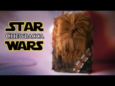 DIY Chewbacca Gift Box Decoration - Star Wars